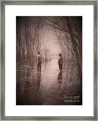 Andrew And Sarah Framed Print