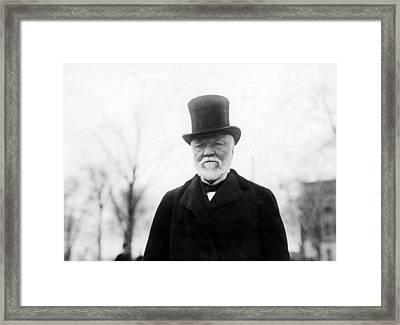 Andrew Carnegie, 1912 Framed Print