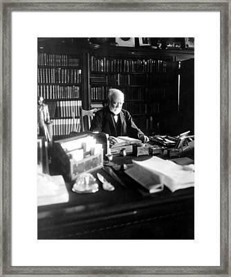 Andrew Carnegie, April 5, 1913 Framed Print