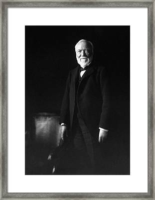 Andrew Carnegie Framed Print by War Is Hell Store