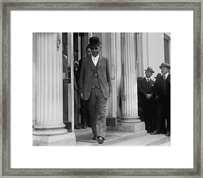 Andrew J. Volstead 1860�1947 Is Known Framed Print by Everett