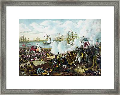 Andrew Jackson -- Battle Of New Orleans Framed Print by War Is Hell Store