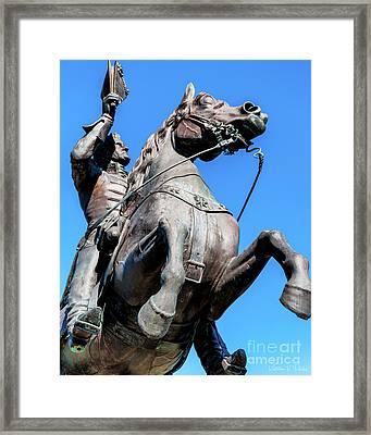 Andrew Jackson - New Orleans Framed Print by Kathleen K Parker