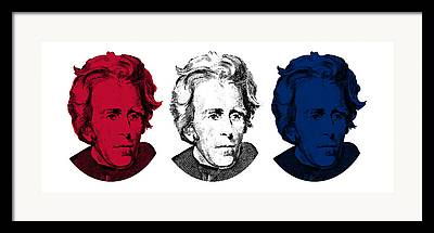 War Of 1812 Mixed Media Framed Prints