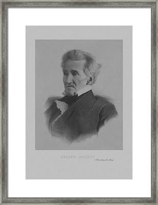 Andrew Jackson Framed Print by War Is Hell Store