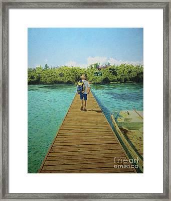 Andrew Framed Print by Jennifer Watson