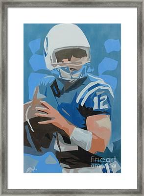 Andrew Luck II Framed Print