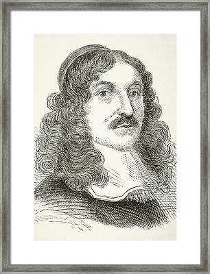 Andrew Marvell 1621to 1678, English Framed Print