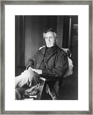 Andrew Still, 1828-1917, Founder Framed Print by Everett