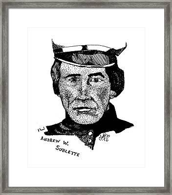 Andrew Sublette Framed Print