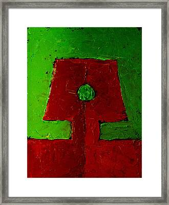Android Framed Print by Chris  Riley
