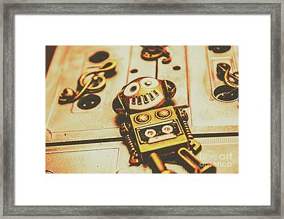 Android Rave Framed Print
