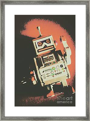 Android Short Circuit  Framed Print