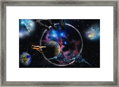 Andromeda Beckons Framed Print by David Jackson