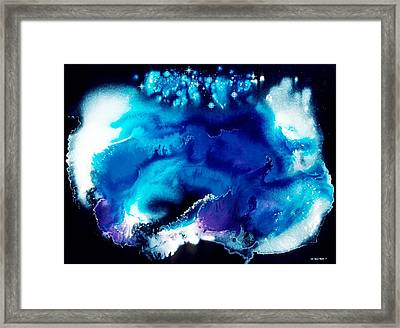 Andromeda Blessing Framed Print by Lee Pantas
