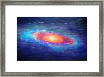 Andromeda Galaxy Framed Print by Dan Sproul