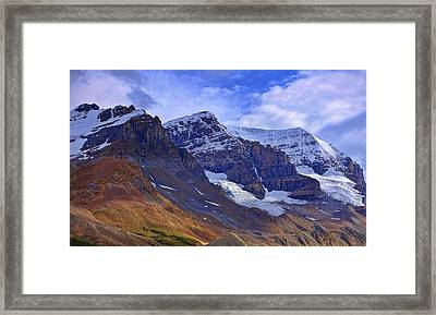 Mount Andromeda Framed Print by Heather Vopni