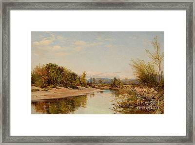 Androscoggin River Framed Print by Celestial Images