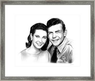 Andy And Ellie Framed Print