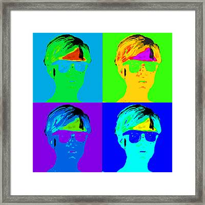 Andy Is Art Framed Print by Paul Knotter