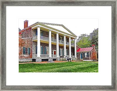 Andy Jackson's Hermitage Framed Print