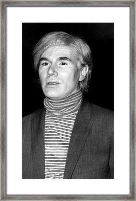 Andy Warhol, 1928-1987, American Framed Print by Everett