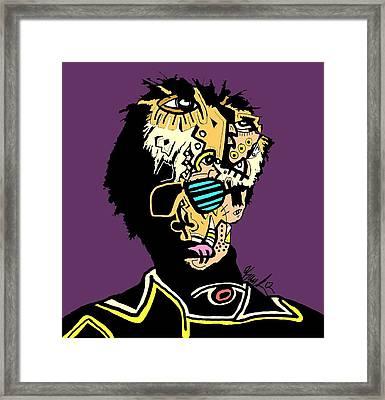 Andy Warhol Framed Print by Kamoni Khem