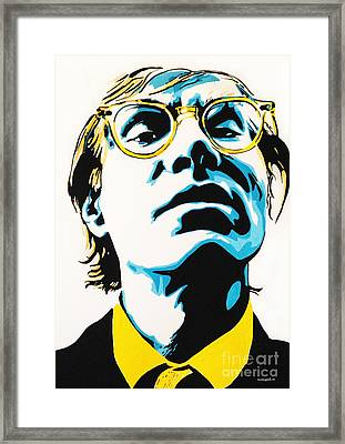 Andy Warhol Part Two. Framed Print
