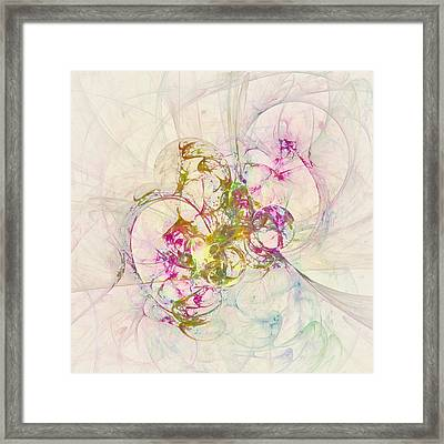 Anethene Thought  Id 16103-130011-09110 Framed Print by S Lurk