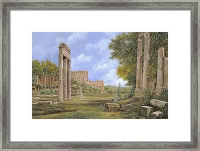 Anfiteatro Romano Framed Print