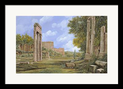 Ancient Roman Framed Prints