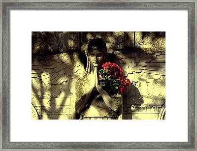 Ange Framed Print