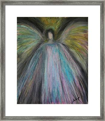 Angel-1 Framed Print