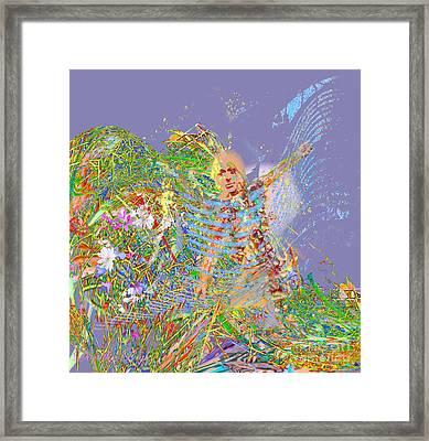 Angel Arriving Framed Print