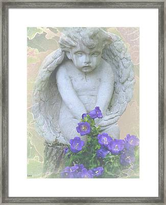 Angel Bells Framed Print by Debra     Vatalaro