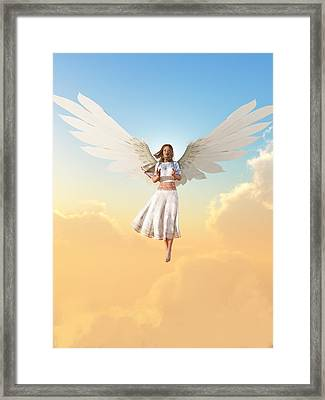 Angel Framed Print by Christian Art