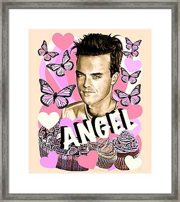 Angel Cupcake Framed Print