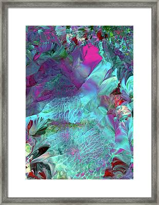 Angel Daphne Flowers #2 Framed Print
