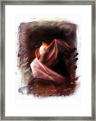 Ballet Angel Framed Print