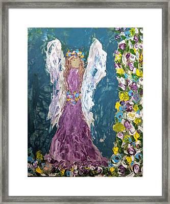 Angel Diva Framed Print