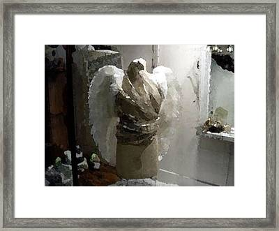 Angel Dresser Framed Print by Gary Freeman