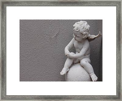 Angel Framed Print by Edan Chapman