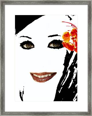 Angel Eyes Framed Print by James Granberry