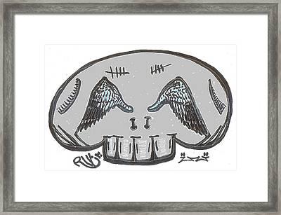 Angel Eyes Framed Print by Robert Wolverton Jr