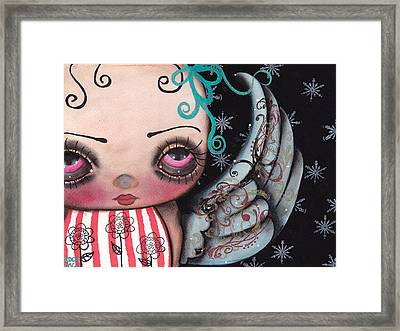 Angel Face 3 Framed Print by  Abril Andrade Griffith