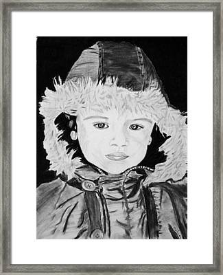 Angel Face Framed Print