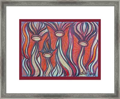Angel Fairies Framed Print by Deborah Willard