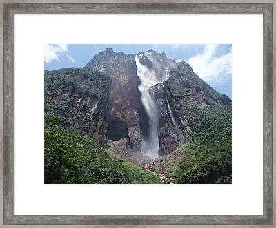 Angel Falls Framed Print
