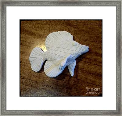 Angel Fish Soon Framed Print