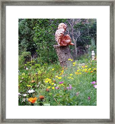 Framed Print featuring the photograph Angel Gardens by P Maure Bausch